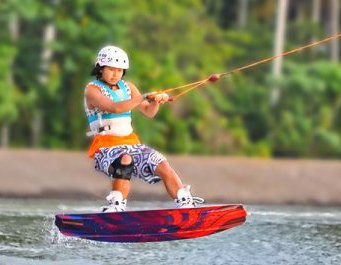 Wakeboarding in Davao