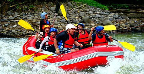 Whitewater River Rafting in Davao City