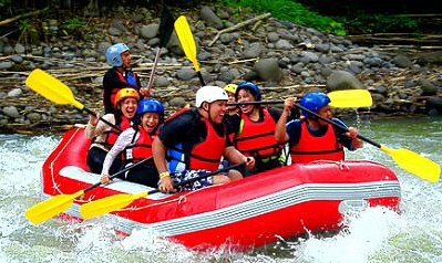 White Water Rafting in Davao