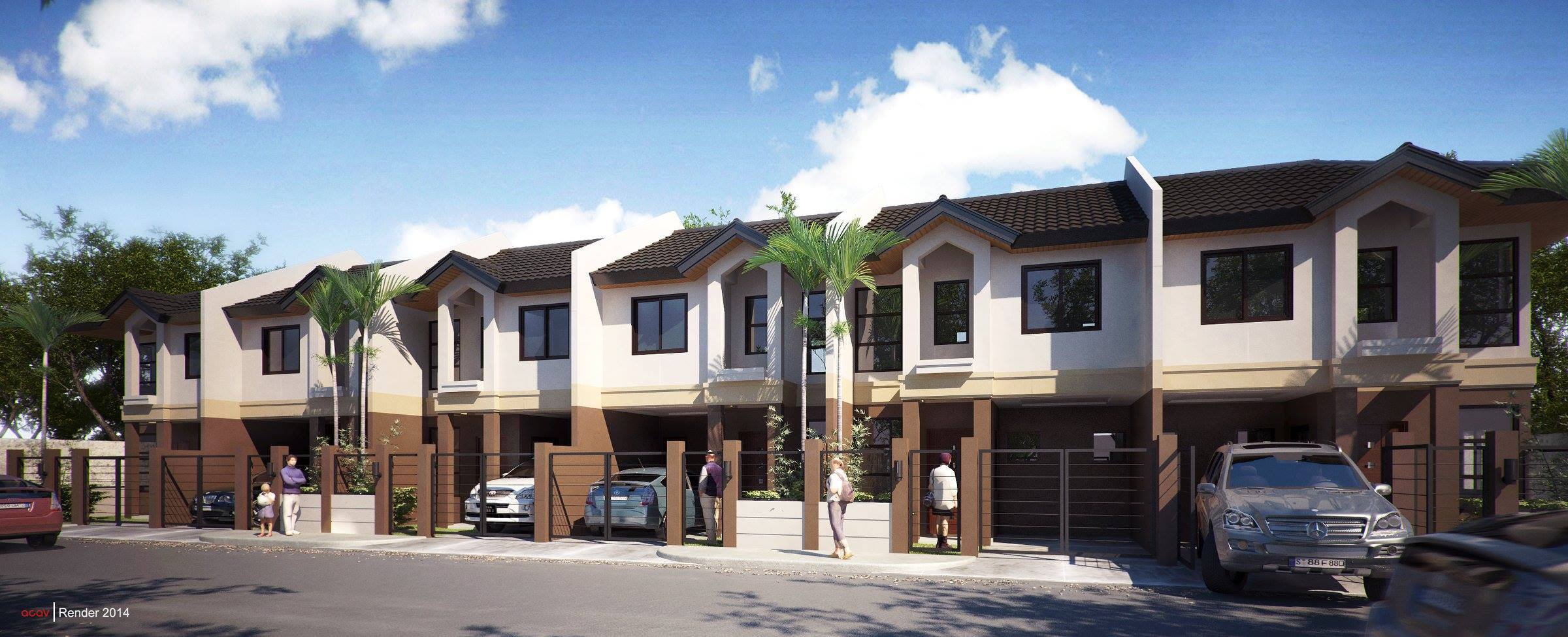 GR130 : Villa Senorita - Jasmine Townhouse, Ma-a, Davao City