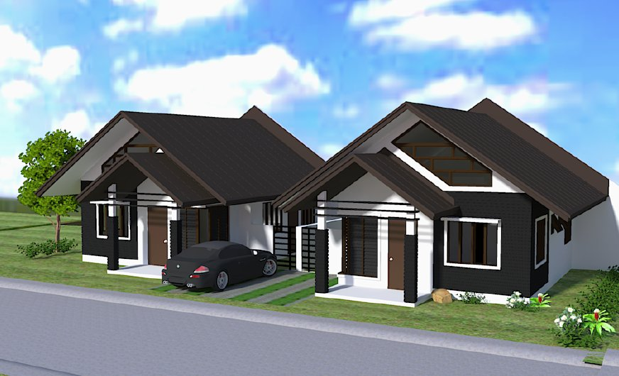 Narra Park Residences Bungalow with Loft House Model, Buhangin, Davao City ---