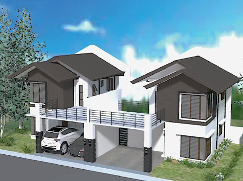GR165 : Narra Park Residences Two Storey with Balcony House Model, Tigatto, Buhangin, Davao City ---
