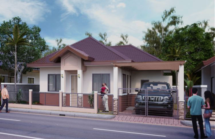 GR140 : Villa Senorita Waling-Waling House Model For Sale, Ma-a, Davao City