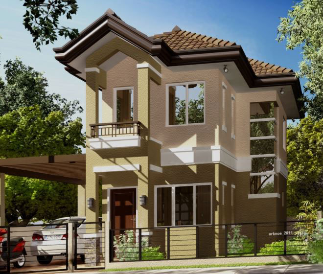 GR142 : Villa Senorita Sampaguita House Model For Sale, Ma-a, Davao City ---