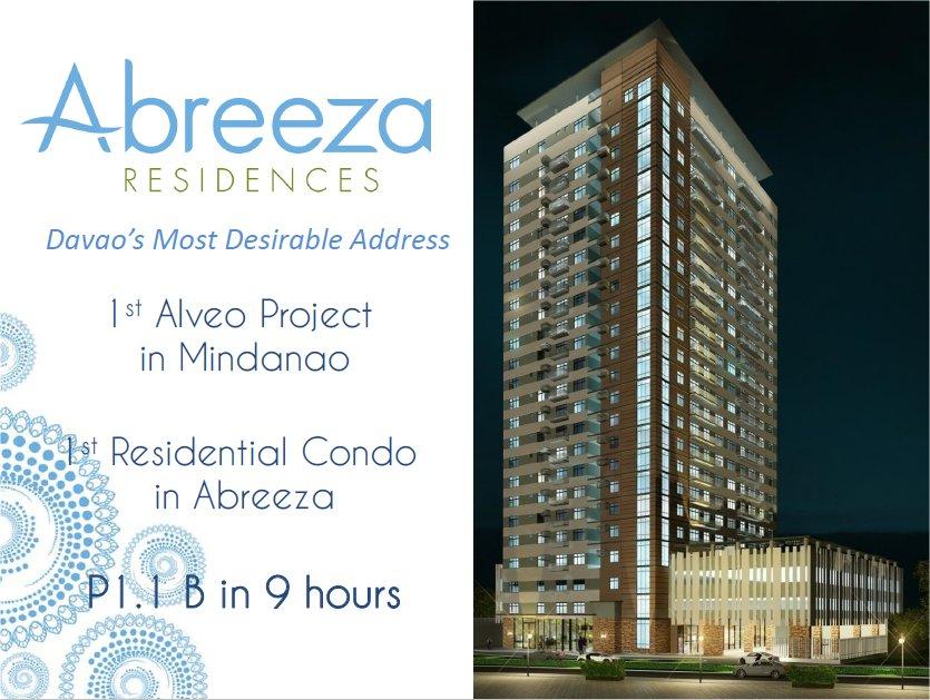Abreeza Place Condominiums Bajada Davao City For Sale