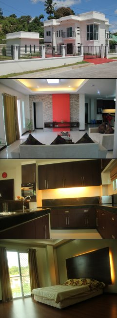 DRE042 : Two(2) Storey Fully Furnished Modern Residential House and Lot  in La Vista Monte Phase 2, Matina, Davao City