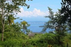 DRE065 : Beautiful Overlooking Samal Island Lots Near Davao Private Association Pending CLEAR TITLE