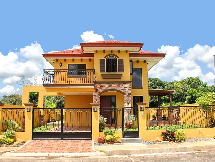 Brand New Two 2 Storey Mediterranean House And Lot For