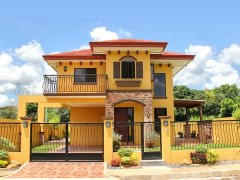 BRAND NEW Two(2) Storey Mediterranean House and Lot For Sale,, Catalunan Pequeno, Davao City