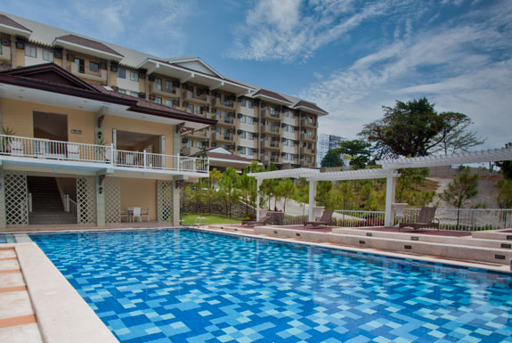 DRE095 : Camella Northpoint Condominium Semi-Furnished  2 Bedroom Unit with Balcony Facing Amenities and Swimming Pool  For  Assume, J.P. Laurel Avenue (Bajada), Davao City