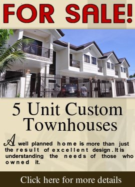 Lanang Five(5) Unit Custom Townhouses For Sale!