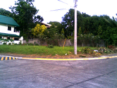 Woodridge Park Subdivision 269sqm. Corner Lot, Ma-a, Davao City
