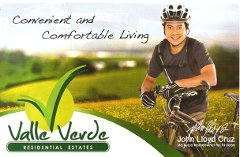 CDGR086 : Valle Verde Residential Estates, Davao City
